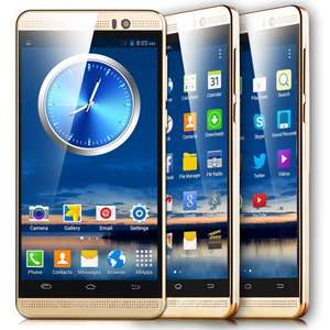 """LUXURY 5.0"""" Touch Android Mobile Smart phone 2Sim Dual Core WiFi 3G GPS Unlocked £43.99 @  unlimitedseller / ebay"""