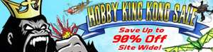 Sale up to 90% off @ Hobbyking.co.uk