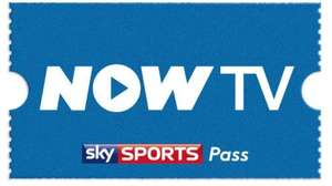 NOW TV Sky Sports 24hr Pass £3 using code