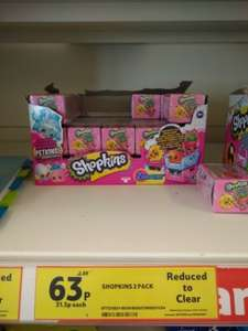 shopkins 63p at tesco Hook