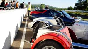 Free BMW Wet Grip Taster at Free Soft Top Sunday Breakfast Club at Goodwood