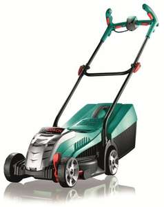 Bosch 600885D71 Rotak 32 LI Ergoflex Cordless 36 V Lithium Ion Rotary Lawnmower Featuring Syneon Chip (32 cm Cutting Width) £199.49 @ Amazon