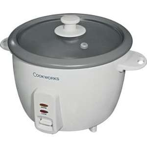 Cookworks 1.5L Rice Cooker - White - £12.49 (was  £16.00) Save 20% @ Argos.co.uk