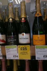 Taittinger Brut Reserve NV 750ml, £25 In Store Or Online @ Morrisons