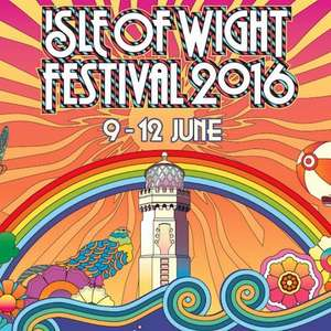 Isle of Wight festival adult camping tickets £124 delivered. £90 off @ thepriceiswight