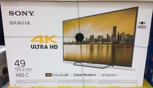 """Sony KD49X8005CBU 49"""" Android Smart WiFi Ultra HD 4K LED TV £499 @ Tesco online and instore"""