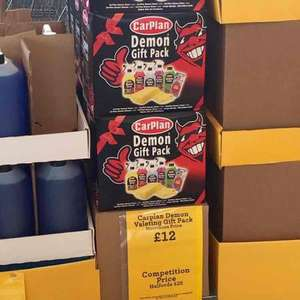 Carplan Demon Gift Set £12 Morrisons