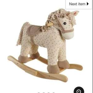 rocking horse £7.50 @ Asda in store
