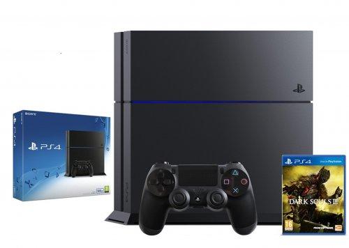 PS4 Black Console 500GB + Dark Souls III £254.99 @ Ebay/Shopto