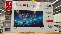 "Tesco Digihome 48"" 4k Smart TV £299 Tesco"