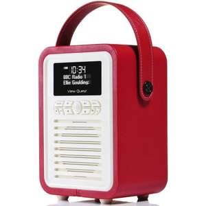 Retro Mini DAB+ Radio & Bluetooth - 40% Off With Railcard @myvq.co.uk