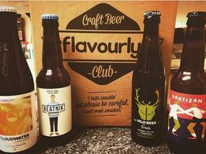4 Craft Beers for £4 + Free Delivery @ Flavourly