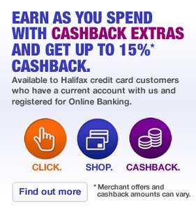 ICELAND 10% CashBack for Halifax Debit/CreditCard purchase