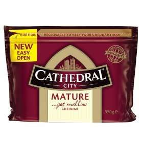 Cathedral City Cheese on Rollback at Asda - 350g blocks were £3.50 now down to £2!