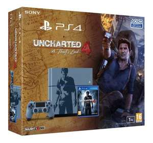 Playstation 4 1Tb Special Edition Console with Uncharted 4 - A Thief's End - From £299.99 With Code @ Very