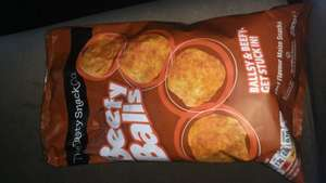 Beefy Balls Crisps £1 at Poundland