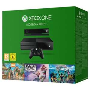 Xbox One 500GB + Kinect + Star Wars: Battlefront & Dance Central Spotlight, Kinect Sport Rivals and Zoo Tycoon £299 @ Tesco Direct