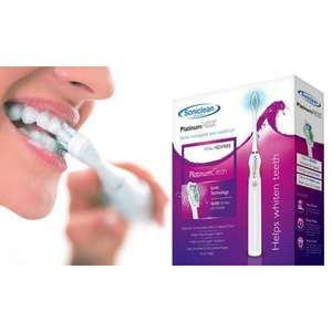 Soniclean PlatinumHDX Electric Toothbrush Sonic Technology £19.99 + £1.99 del @ Chemist4u