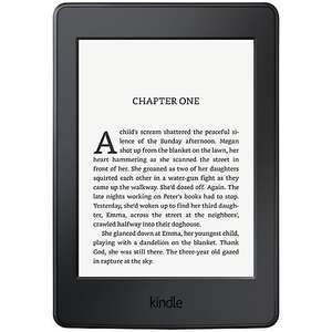 Kindles 20% off. Regular Kindle £47.96 Kindle Paperwhite £87.96 free c&c / £3.50 del @ John Lewis