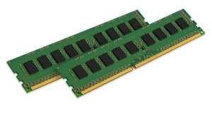 Kingston KVR1333D3E9SK2/16G RAM 16GB 1333MHz DDR3 ECC CL9 DIMM (2x8GB) 240-Pin for £70.69 @ Amazon.co.uk