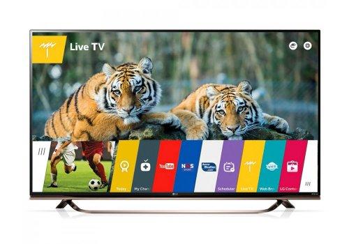 """LG 55UF860V 55"""" 4K 3D LED WebOS 2.0 """"T2"""" TV : £779 delivered @  Crampton & Moore with 5Yr Warranty"""