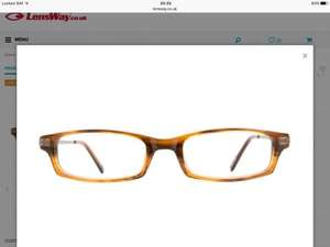 Perscription Glasses from £6.30 (free delivery) with code from Lensway