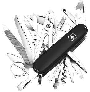 Victorinox Army Knife Swiss Champ Black - £42.95 Amazon