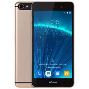 Infocus M560 4G Smartphone - CHAMPAGNE Android 5.1 MTK6753 64bit Octa Core 1.3GHz 2GB RAM 16GB ROM 5MP + 13MP Cameras 5.2 inch FHD Screen £71.20 With Code (16GB EU Warehouse & 32GB Version Also Available) @ Gearbest