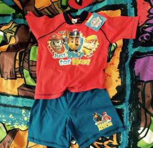 Paw Patrol short pjs £2.99 @ Home Bargains