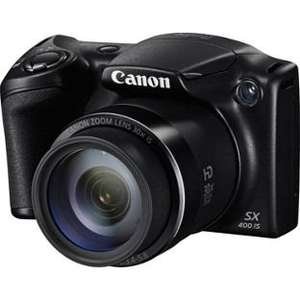 Canon PowerShot SX400 16MP 30x Zoom Bridge Camera  Now just £79.99  @ Argos.