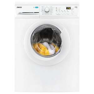Zanussi ZWF81441W Washing Machine, 8kg Load, A+++, 1400rpm (£239) - £199 (trade in old machine) delivered at John Lewis