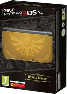 New Nintendo 3DS XL Hyrule Edition Console £155 [Using Code] @ Tesco Direct