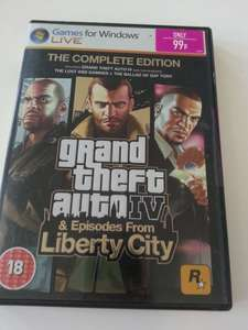 GTA IV 99p PC @ GAME in store.