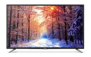 Sharp 32 Inch LC-32CFE6131K Smart Full HD 1080p LED TV with Freeview HD £149  using code free c&c @ Tesco direct