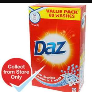 Daz 80 wash washing powder £6 @ Morrisons