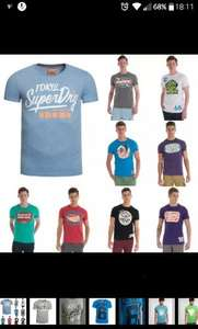 Superdry t-shirt 3 for 2! £9.99 delivered @ superdry / Ebay
