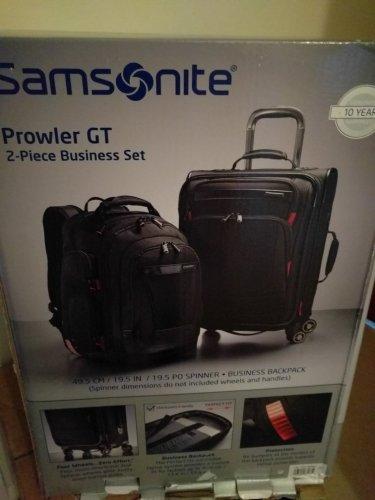 Samsonite two piece spinner luggage set - Costco £59.99