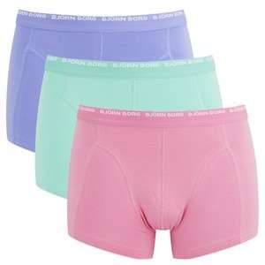 BJORN BORG MEN'S 3 PACK BOXER SHORTS £13.99 with free delivery on orders over £20 @ The Hut