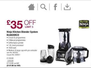 Nutri Ninja Kitchen System with Auto IQ £137.98 @ Costco
