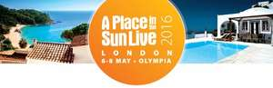 Free tickets for A Place in the Sun Live with code @ Olympia London