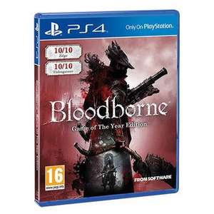 Bloodborne - Game of the Year Edition (PS4) £22.82 Delivered (Using Code) @ Shopto via Rakuten