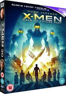 X-Men: Days of Future Past 3D Blu-Ray £4.79 [£2 Postage, Orders under £10] @ Xtra-Vision