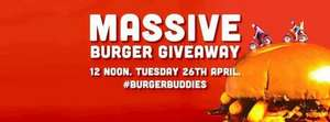 241 classic burger giveaway at Revolution, Oxford Road, Manchester from mid day today only