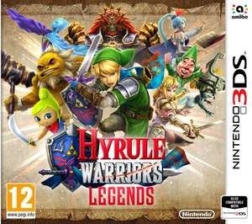 Hyrule Warriors 3DS £19.54 [Using Code] @ Base via Rakuten