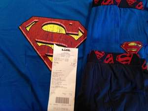 Superman V Batman Lidl £2.99 each T-shirt & Boxers @ Lidl
