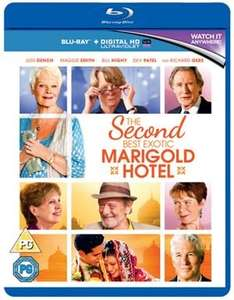 The Second Best Exotic Marigold Hotel - Pre-owned Blu-ray - XVMarketplace - £3