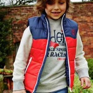 Cherokee Boys' Colour Block Gilet 5yrs -12yrs was £15 now £4.50 with FREE C+C or Home Delivery @ Argos (lots more in 1st/3rd posts)