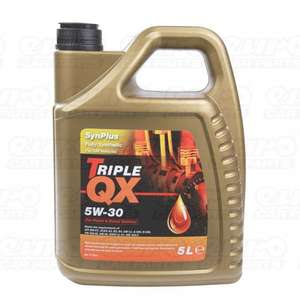 BOGOF.. TRIPLE QX 5w30 Fully Synthetic (For GM applications) Engine Oil 5Ltr - £23.49 @ EuroCarParts