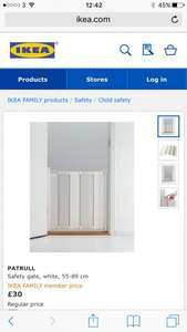 IKEA Patrull baby safety gate £30, exactly the same as babydan