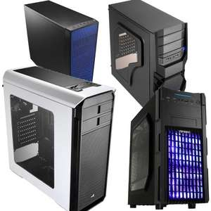 Various PC cases incl Aerocool Aero 500 Case + Window & Card Reader £26.93 + £1.30 back in points @ Rakuten/Box (Using code / see comment #1)